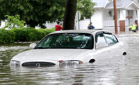 Protect new car from floods